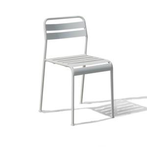 Krzesło ogrodowe białe