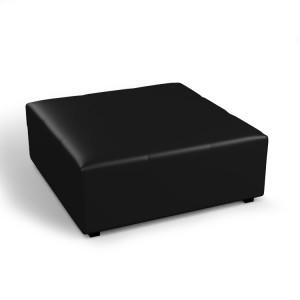 Pufa kwadratowa czarna