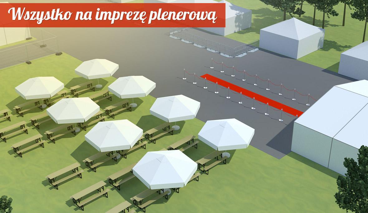 Namioty i hale namiotowe