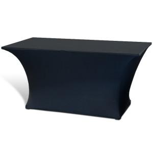 Pokrowiec stretch na stół – czarny