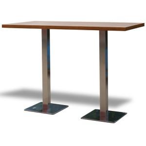 Stół Classic 160 wysoki – brązowy