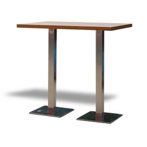 Stół Classic 120 wysoki – brązowy