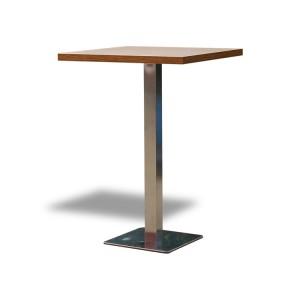 Stół Classic 80 wysoki – brązowy