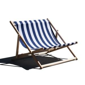 Leżak plażowy dla 2 osób