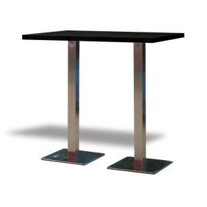 Stół Classic 120 wysoki – czarny