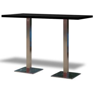 Stół Classic 160 wysoki – czarny