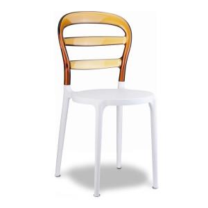 Krzesło Miss Bibi białe