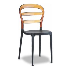Krzesło Miss Bibi czarne