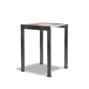 Stół Modern 80 wysoki brąz