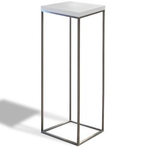 Stolik Cube wysoki biały