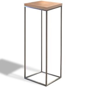 Stolik Cube wysoki brąz