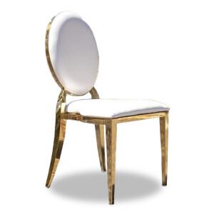 Krzesło Glamour Gold